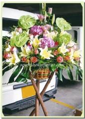 H505-繡球系列(綠掌,百合,玫瑰)