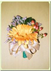 R020-太陽花襟花