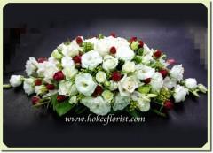T006-長形婚禮枱花