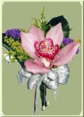 R011-粉紅蕙蘭襟花