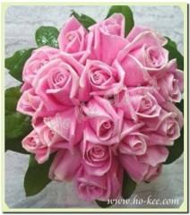 W002-馬莉亞玫瑰花球